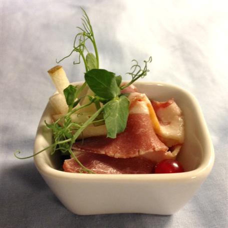 Traiteur De Rudder - Gerookte eendenborst-zoetzure saus van kersen